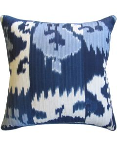 Harry Twill Blue Decorative Pillow - Available in Two Sizes