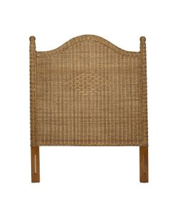 Harvested Rattan Wicker Twin Headboard - Available in a Variety of Colors
