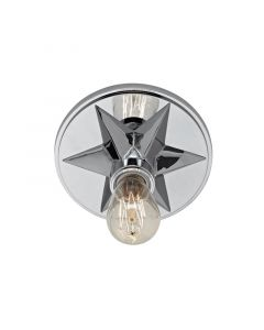 Hudson Valley Lighting Bethesda Star Ceiling Flush Mount – Available in Five Finishes