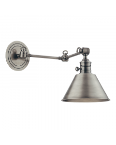 Hudson Valley Lighting Garden City Adjustable Metal Wall Sconce  Available in Four Finishes