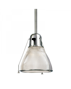 Hudson Valley Lighting Haverhill Industrial Hanging Ceiling Pendant  Available in Three Sizes and Four Finishes