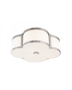 Hudson Valley Lighting Large Chandler Scalloped Quatrefoil Ceiling Flush Mount  Available in Three Finishes
