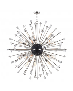 Hudson Valley Lighting Large Liberty Starburst Chandelier  Available in Two Finishes