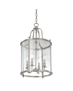 Hudson Valley Lighting Mansfield Classic 4 Light Lantern - Available in 3 Finishes