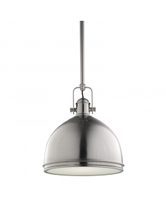 Hudson Valley Lighting Marion Adjustable Industrial Hanging Ceiling Pendant  Available in Three Finishes