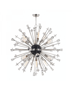 Hudson Valley Lighting Medium Liberty Starburst Chandelier  Available in Two Finishes
