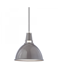 Hudson Valley Lighting Medium Lydney Metal Shaded Hanging Ceiling Pendant  Available in Three Finishes