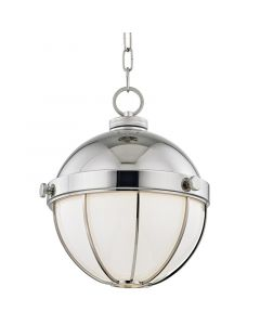 Hudson Valley Lighting Medium Sumner Hanging Globe Ceiling Pendant – Available in Three Finishes