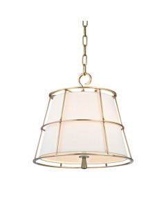 Hudson Valley Lighting Savona Modern Cage Pendant - Available in 3 Finishes