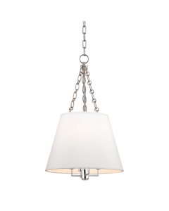 Hudson Valley Lighting Small Burdett Four Light Hanging Ceiling Pendant  Available in Three Finishes