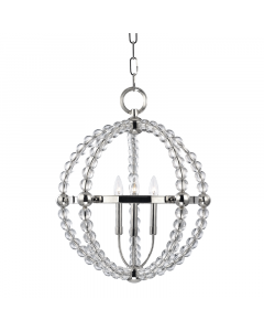 Hudson Valley Lighting Small Danville Three Light Hanging Ceiling Pendant  Available in Two Finishes