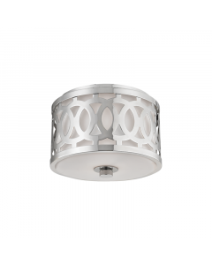 Hudson Valley Lighting Small Genesee One Light Ceiling Flush Mount Available in Three Finishes
