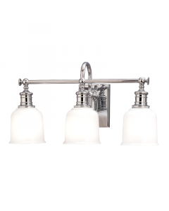 Hudson Valley Lighting Three Light Bath and Vanity Light  Available in Four Finishes
