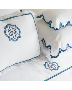 Ibiza Scalloped Bedding Collection