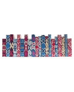 Ikat Series 20 Volume Decorative Book Set With Script Covers