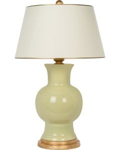 Bradburn Home Juliette Citrus Table Lamp With Gold Leaf Accents