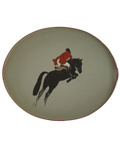 Jumping Horse Tole Tray