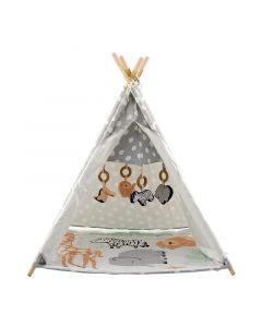 Jungle Animal Activity Play Gym Teepee for Babies