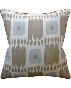 Kandira Greige Decorative Throw Pillow - Available in Two Sizes