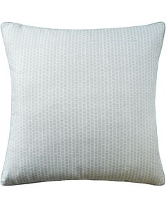 Kaya Square Decorative Pillow in Mist – Available in Three Sizes