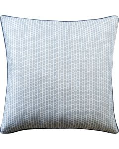 Kaya Square Decorative Pillow in Sky Blue – Available in Three Sizes