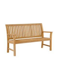 Kingsley Bate Chelsea Bench with Optional Cushion