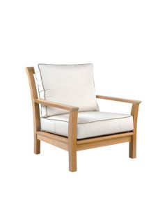 Kingsley Bate Chelsea Outdoor Lounge Chair with Optional Ottoman - ON BACKORDER UNTIL MID JULY 2021