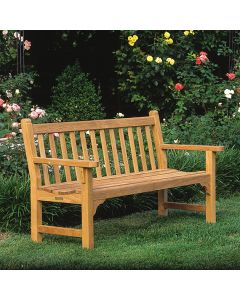 Kingsley Bate 4 Foot Dunbarton Bench with Optional Cushion - ON BACKORDER UNTIL EARLY AUGUST 2021