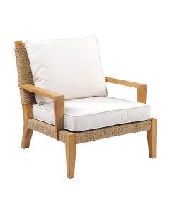 Kingsley Bate Hadley Outdoor Lounge Chair with Optional Ottoman - ON BACKORDER UNTIL MID JULY 2021
