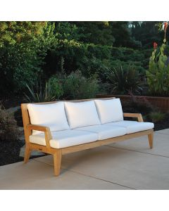 Kingsley Bate Mendocino Deep Seating Outdoor Sofa with Cushions