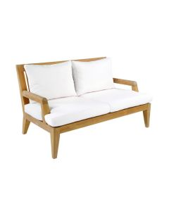 Kingsley Bate Mendocino Deep Seating Outdoor Settee with Cushions