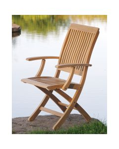 Kingsley Bate Monterey Folding Dining Armchair