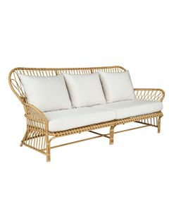 Kingsley Bate Savannah Classic Rattan Outdoor Sofa with Optional Cushion