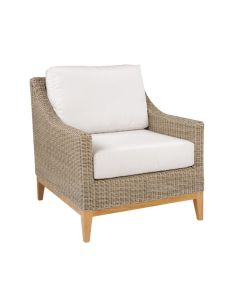 Kingsley Bate Frances Outdoor Wicker Lounge Chair in Variety Colors