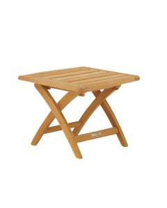 Kingsley Bate St. Tropez Outdoor Teak Ottoman/Side Table