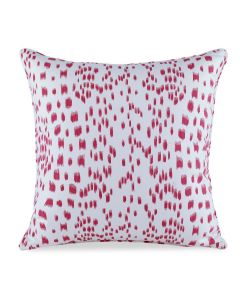 Les Touches Speckled Pink Cotton Decorative Pillow - LOW STOCK