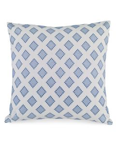 Kravet Sarah Richardson Diamondots Indigo Accent Pillow