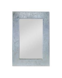 Kravet Silver City Silver Leaf Rectangular Mirror - BACKORDERED - CALL FOR AVAILABILITY