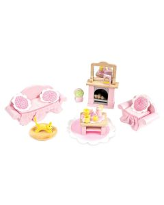 Le Toy Van Daisylane Sitting Room Dollhouse Furniture