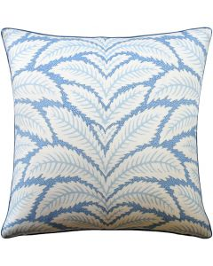 Leaf Design Linen Pillow Available in Different Sizes