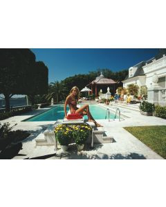 """Slim Aarons """"Lillian Crawford"""" Print by Getty Images Gallery - Variety of Sizes Available"""