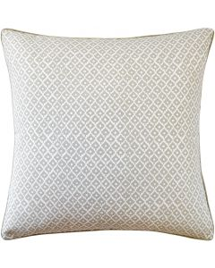Little Tree Design Square Linen Decorative Pillow in Flax – Available in Two Sizes