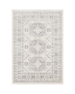 Mallory Large Grey and Khaki Geometric Rug - Available in a Variety of Sizes