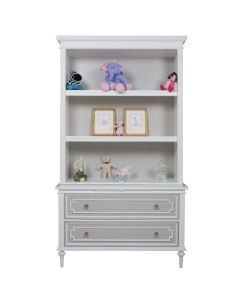 Marcheline Two Drawer Bookcase - Available in a Variety of Finishes