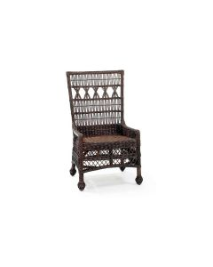Marthas Vineyard Wicker Dining Chair - Available in a Variety of Colors