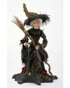 Midnight Witch 32-inch Doll Decoration
