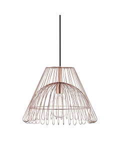Mitzi by Hudson Valley Lighting Large Katie Metal Caged Hanging Ceiling Pendant  Available in Three Finishes
