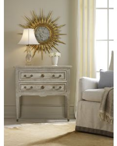 Modern History Manor House Chest in Antique Grey Finish