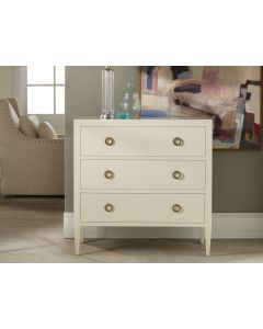 Modern History Painted Three Drawer Chest On Legs