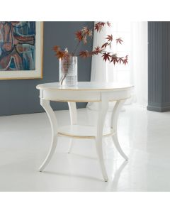 Modern History Covington Round End Table